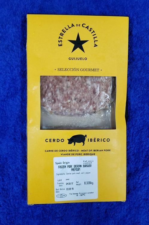 西班牙伊比利亞黑毛豬漢堡 (橡果級)