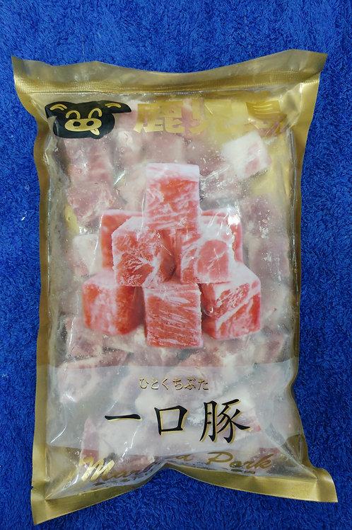日本鹿兒島一口豚