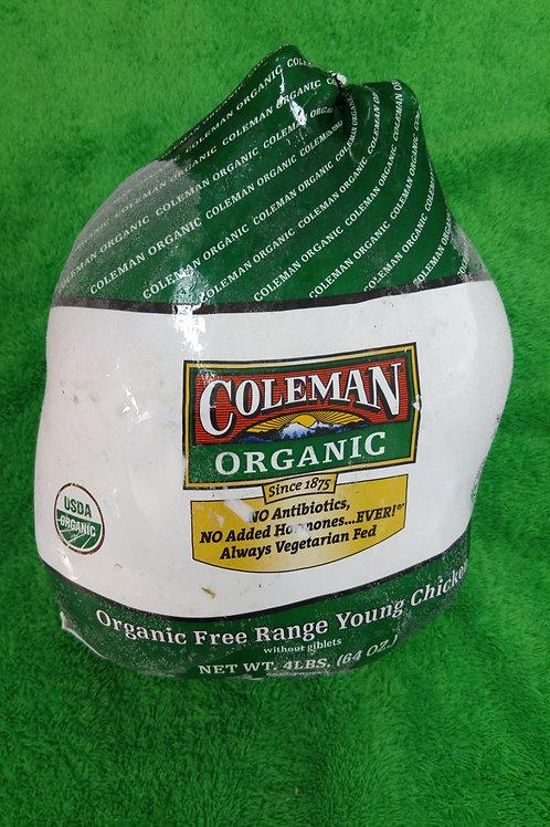 美國 Coleman 有機全雞