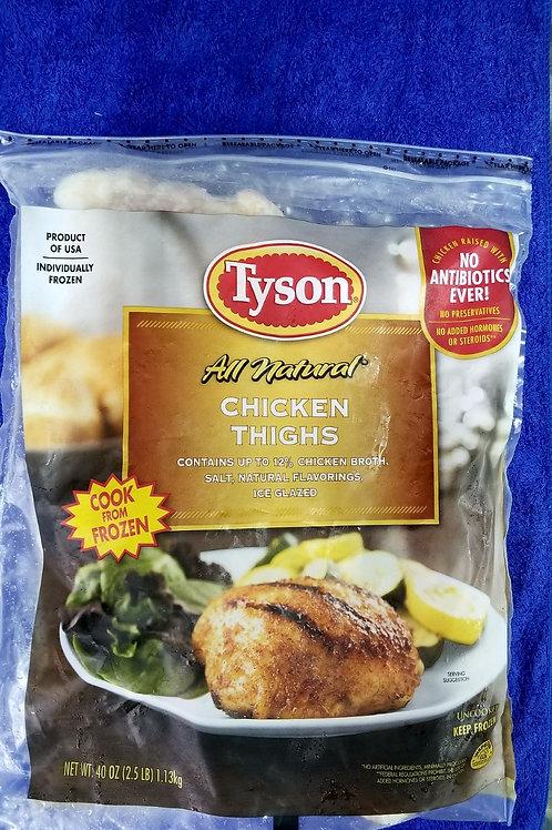 美國Tyson無激素雞上脾