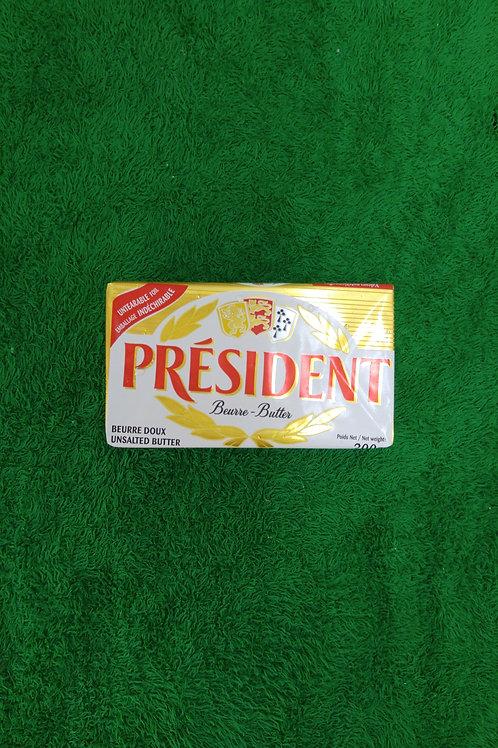 法國 President 無鹽牛油樽 200g
