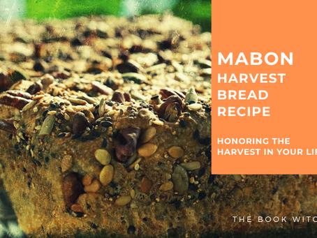 Mabon Harvest Bread Recipe