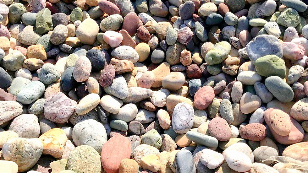 Assorted Mexican Beach Pebbles