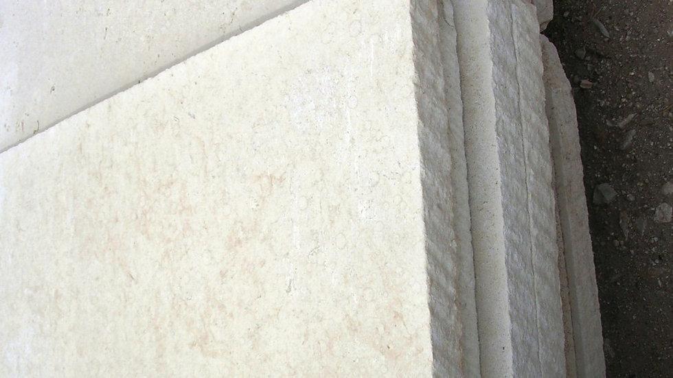 """Sawed Limestone Patio 2 1/4"""""""