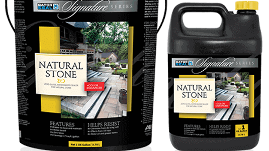 Gator Natural Stone Sealer Zero Gloss + Enhancer