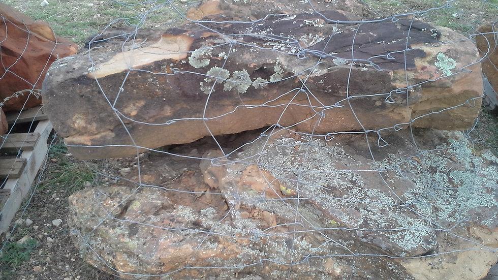 Sandstone Moss Boulders