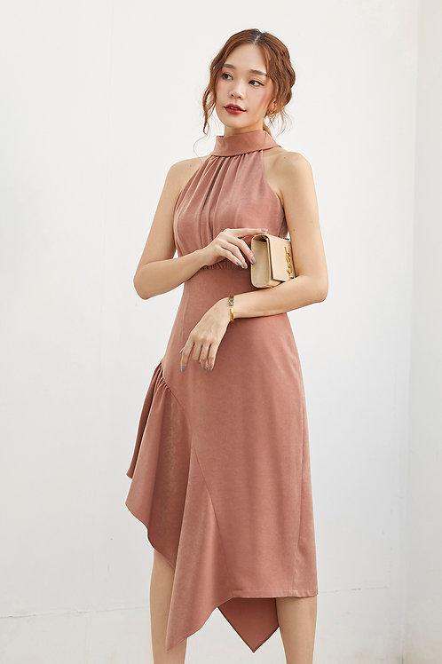 AMELIA DRESS (DUSTY PINK)