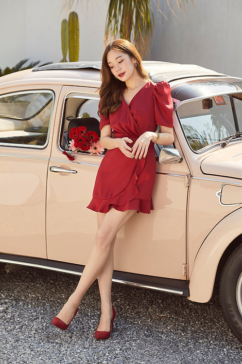 SOULMATE DRESS (RED)