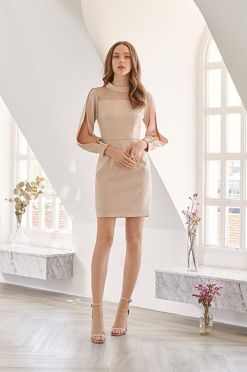 IVY DRESS (BEIGE)