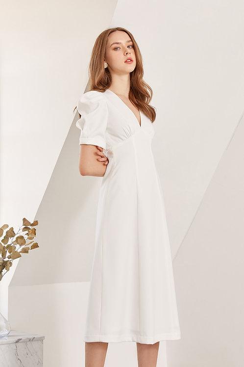 MADEMOISELLE DRESS (WHITE)