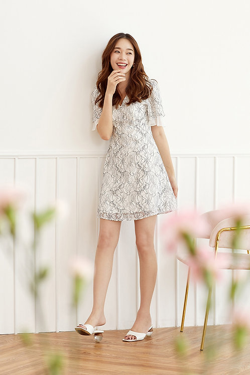 MAYFLOWER LACE DRESS