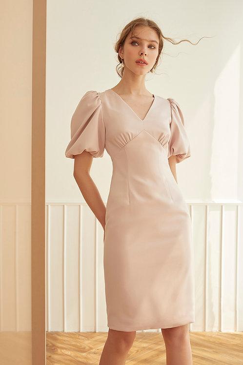 L'AMOUR DRESS (PALE PINK)