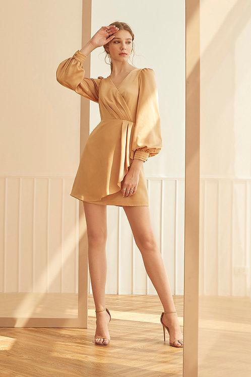 VALENTINA DRESS (GOLD HONEY)
