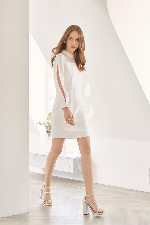IVY DRESS (WHITE)