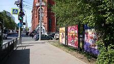 Варварская ул., пересечение с ул. Блохиной. Афиши РЕКНН.jpg