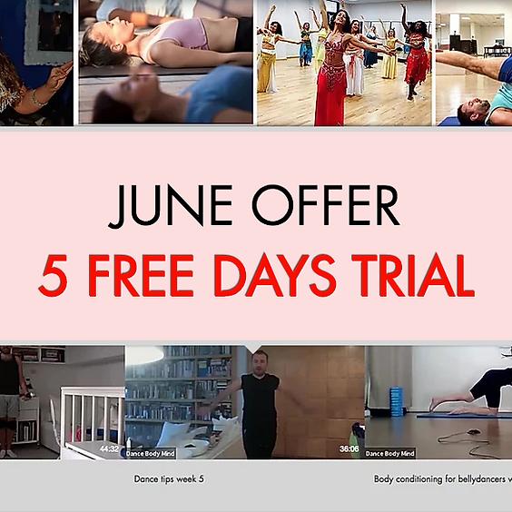 FREE 5 DAYS TRIAL