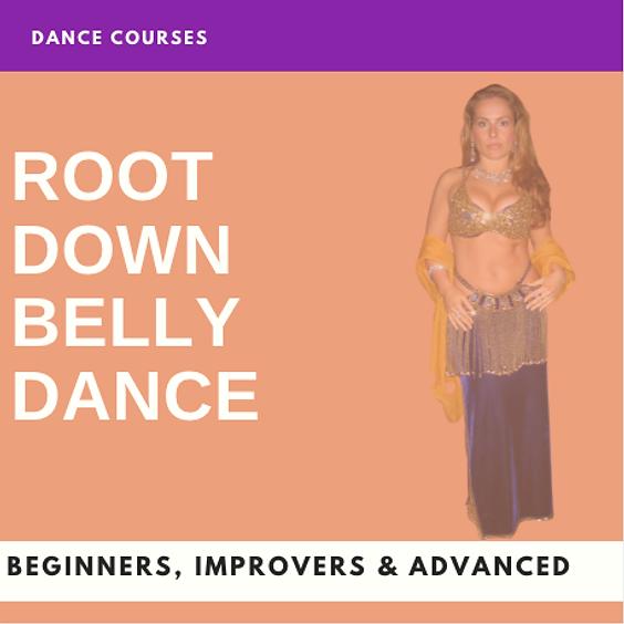 ROOT DOWN  BELLY DANCE (Intermediate)