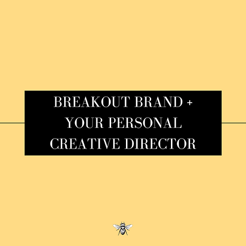 Breakout Brand + Your Personal Creative Director