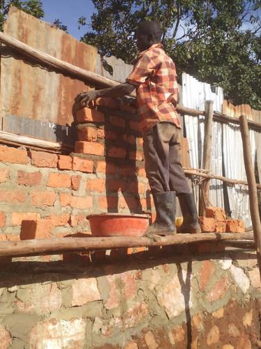 Building Perimeter Wall at Destiny Junior School