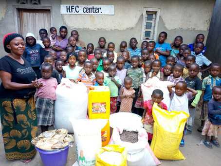 IRFF UK supports the Hope for Children Shelter in Congo!
