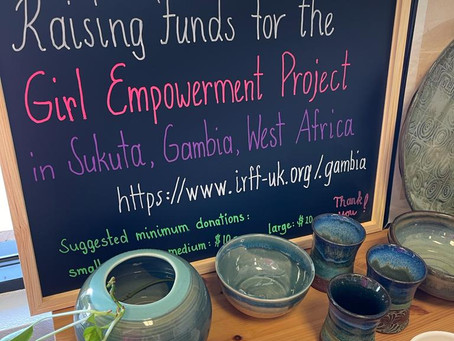 Pottery Club in Fairhope, Baldwin County, Alabama donate to the Gambia Project