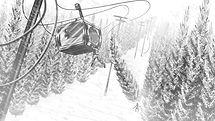 richard rios storyboard ski lift collapse illustration