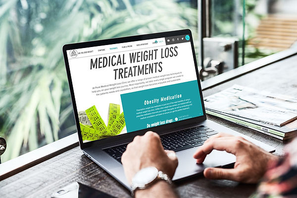 screen shot of peak medcial weight loss