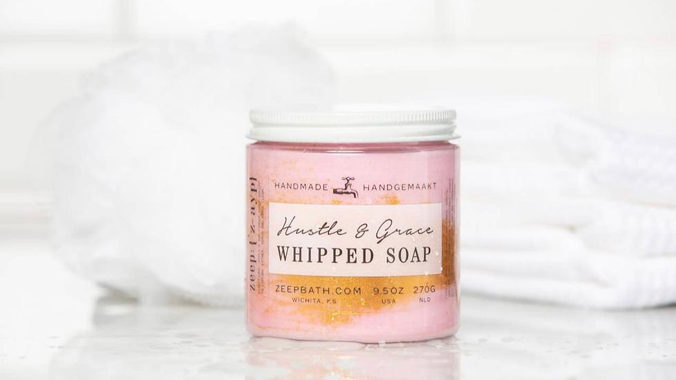 HUSTLE & GRACE WHIPPED SOAP