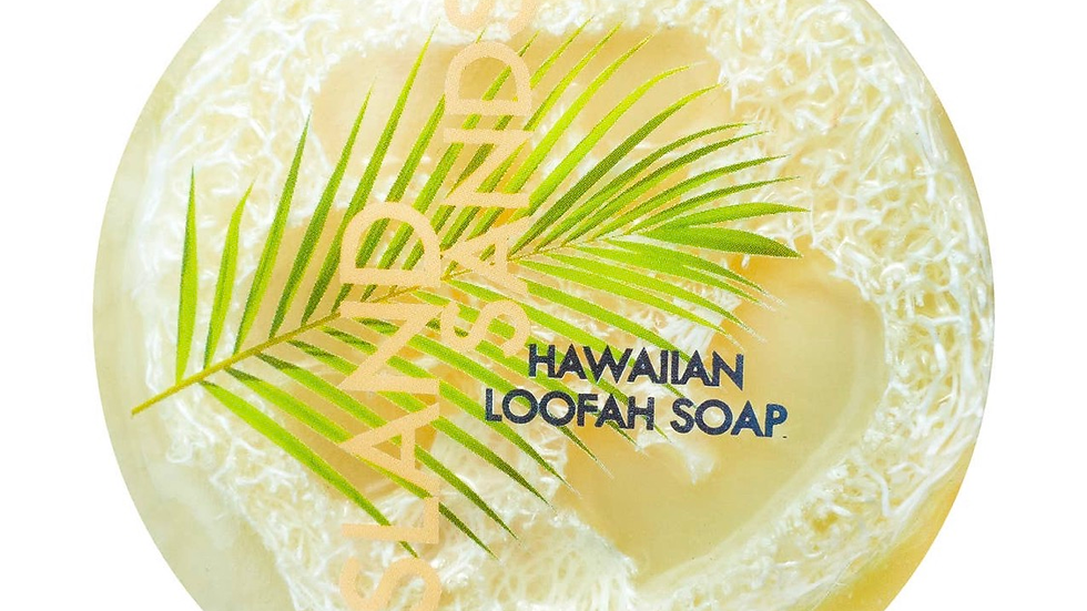 Sea Salt & Kukui Exfoliating Loofah Soap - Island Sands