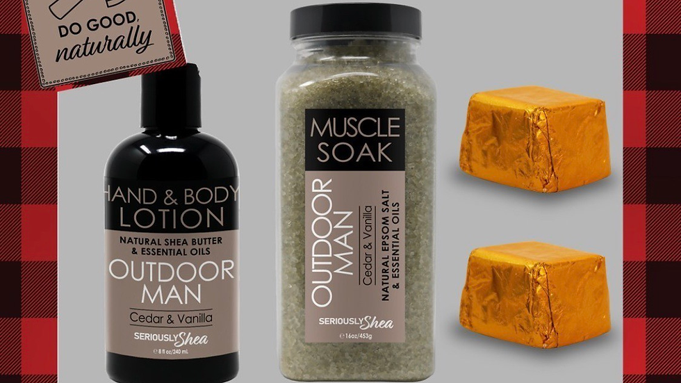 Outdoor Man Deluxe Gift Set