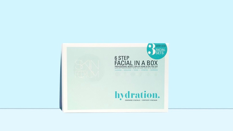 hydration facial (3 sets)
