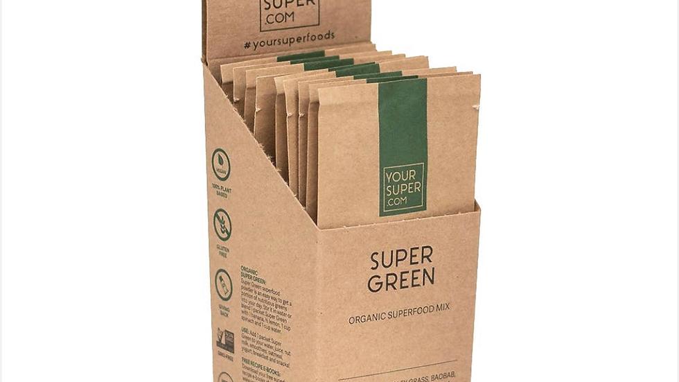Super Green Organic Mix - Super Pack