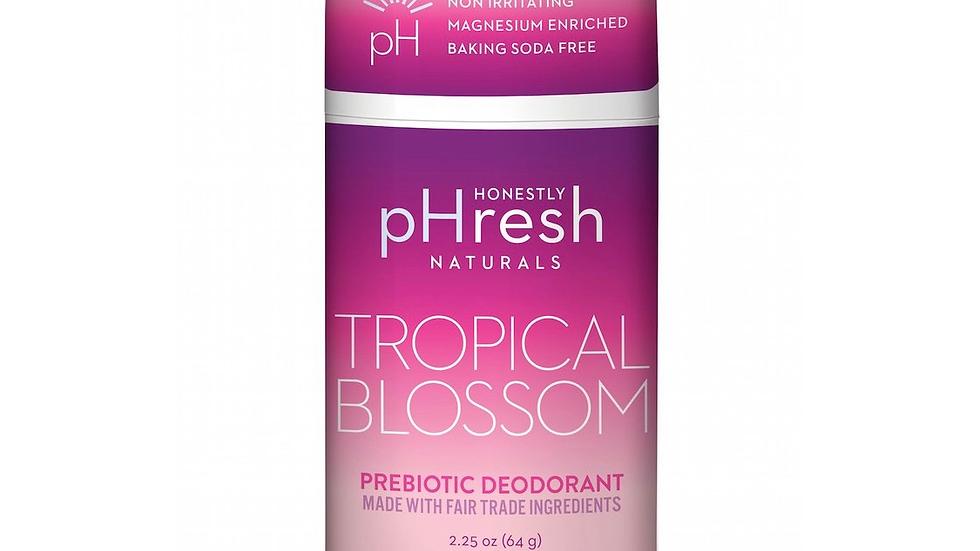 Tropical Blossom Prebiotic Natural Deodorant