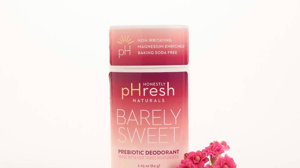 Barely Sweet Prebiotic Deodorant