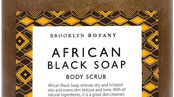 AFRICAN BLACK SOAP BODY SCRUB