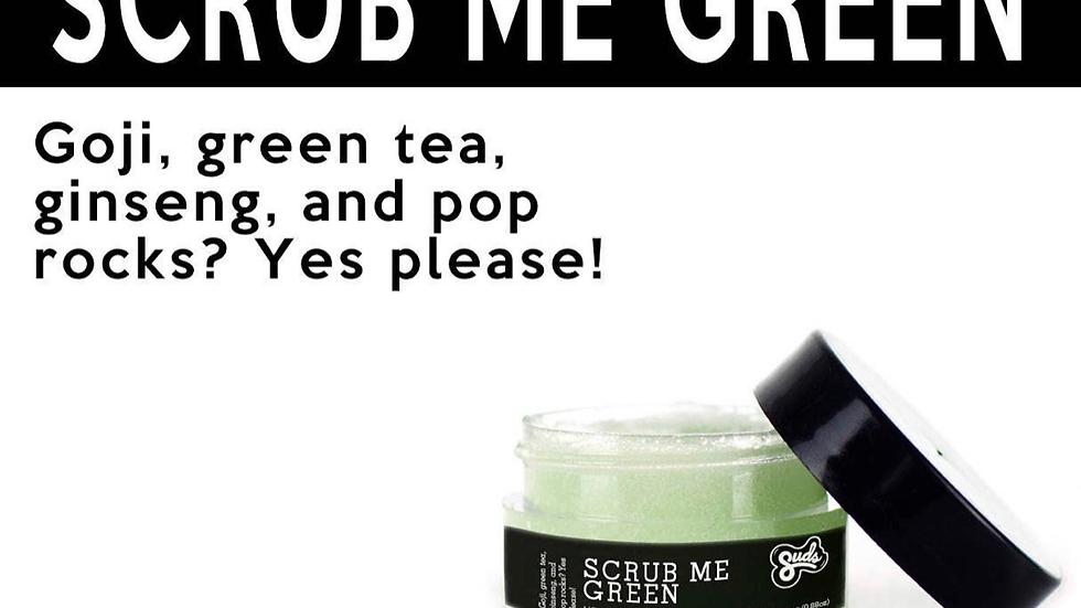 Scrub Me Green Lip Scrub