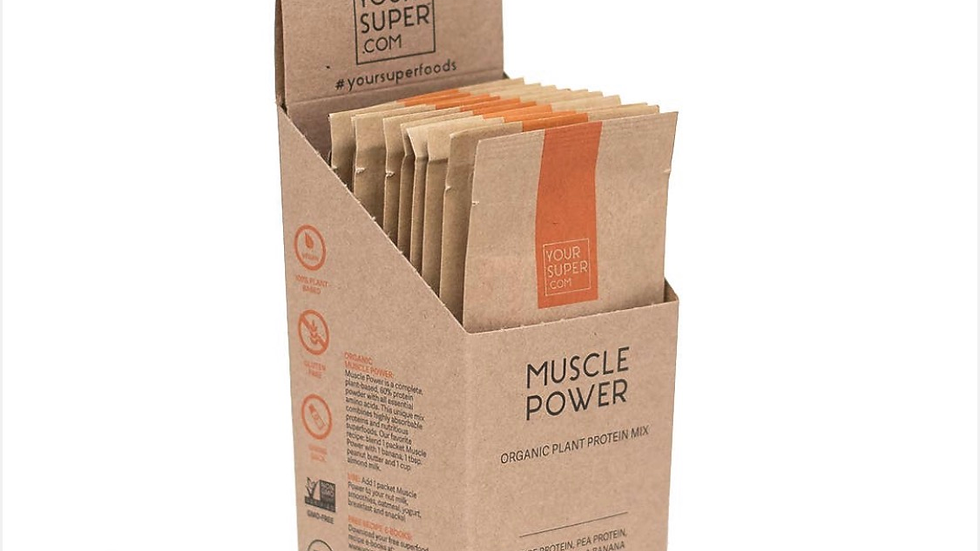 Muscle Power Organic Mix - Super Pack