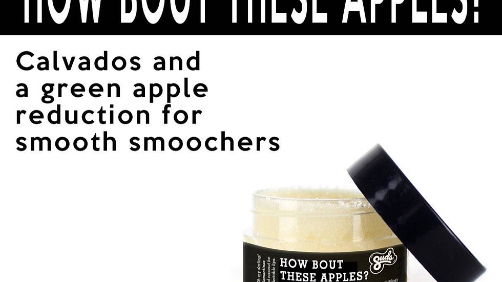 How Bout These Apples? Lip Scrub