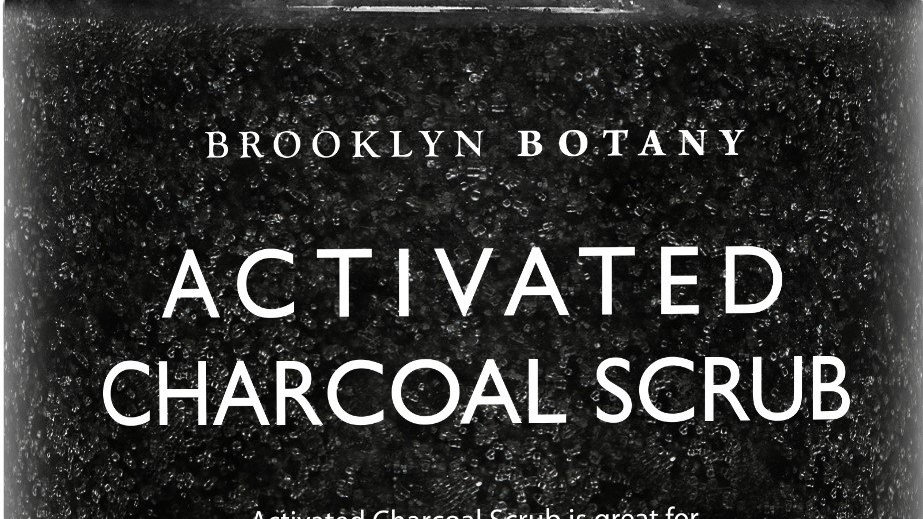 ACTIVATED CHARCOAL BODY AND FACE SCRUB
