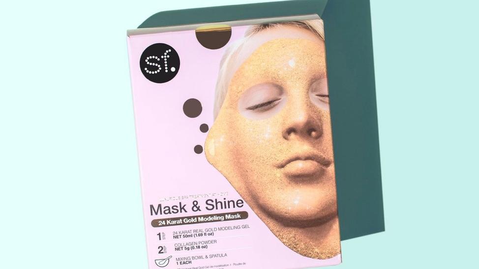 24kt modeling gel mask
