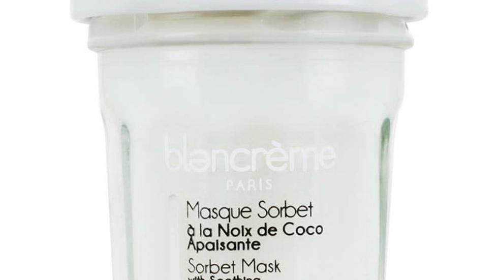 Coconut Face mask sorbet