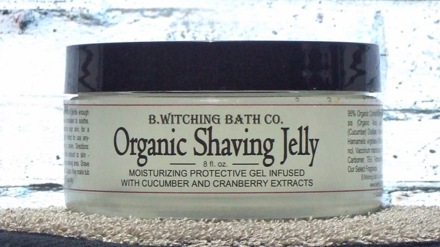 8oz. Organic Shaving Jelly