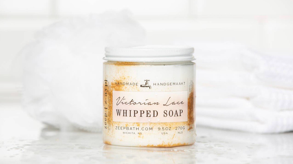 VICTORIAN LACE WHIPPED SOAP