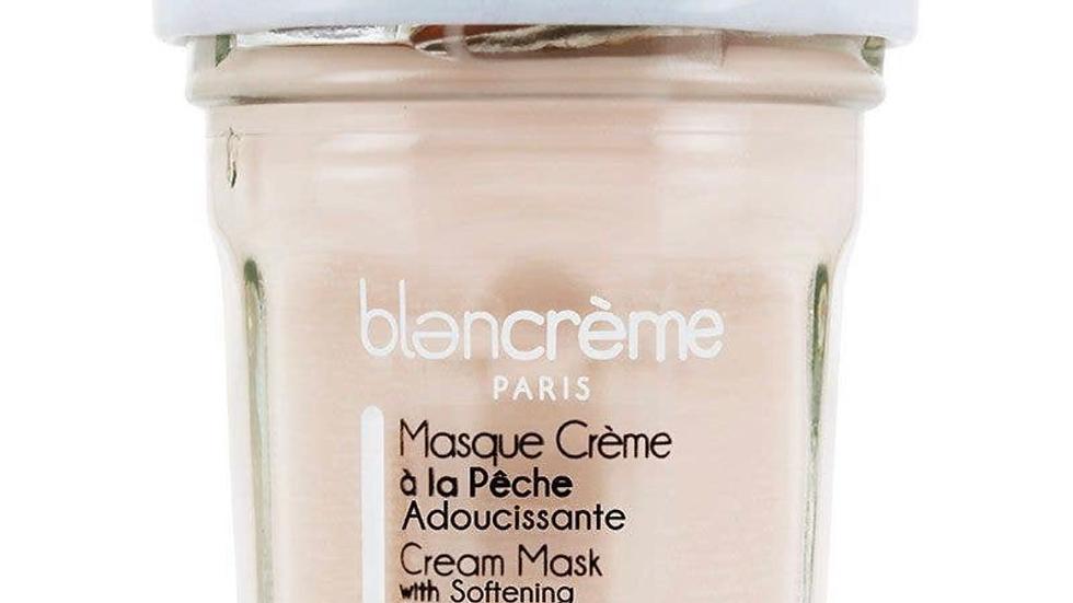 Peach Face mask cream