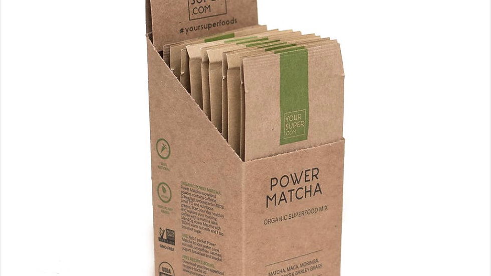 Power Matcha Organic Mix - Super Pack
