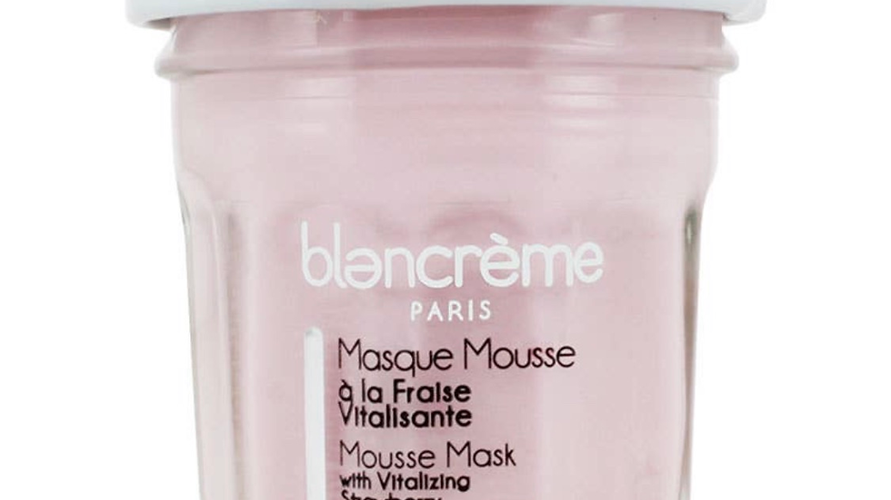 Strawberry Face mask mousse