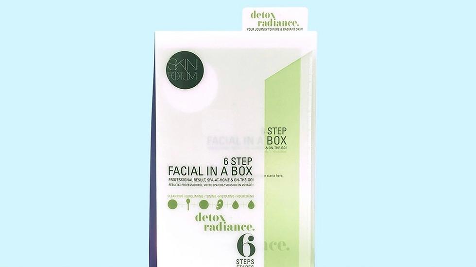 detox facial (1 set)