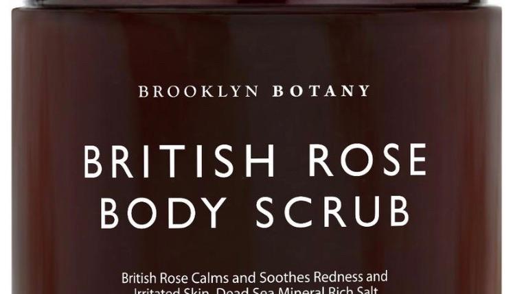 BRITISH ROSE BODY SCRUB