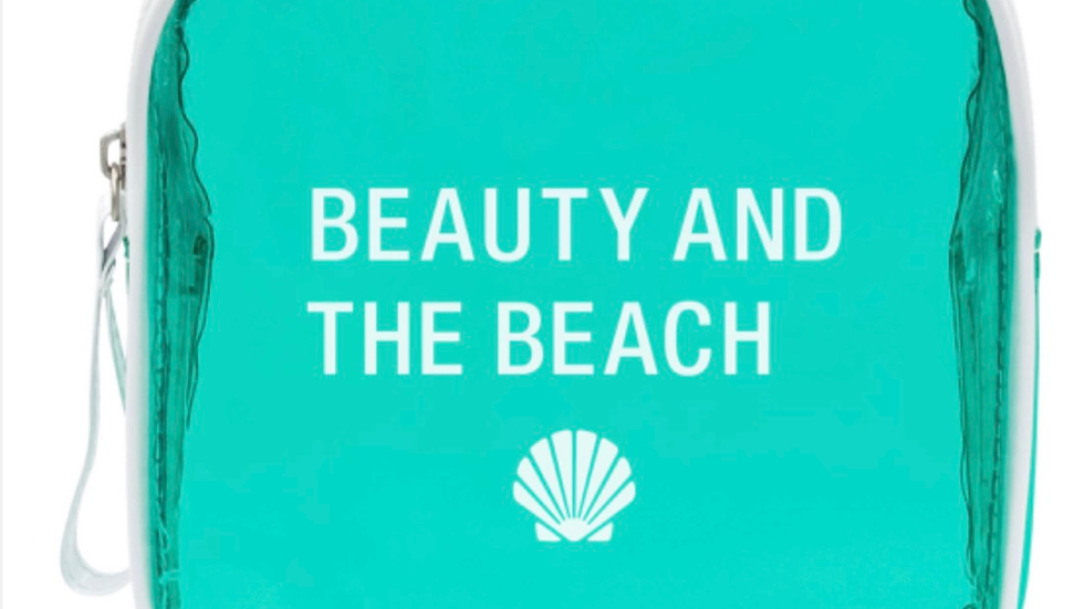Beauty and the Beach Makeup Bag