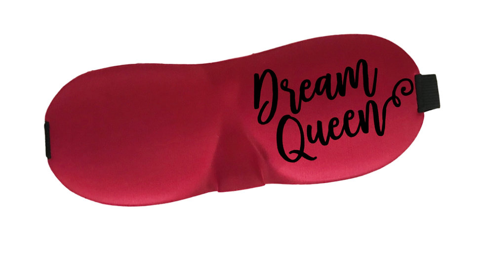 Dream Queen Contoured Sleep Mask for Eyelash Extensions